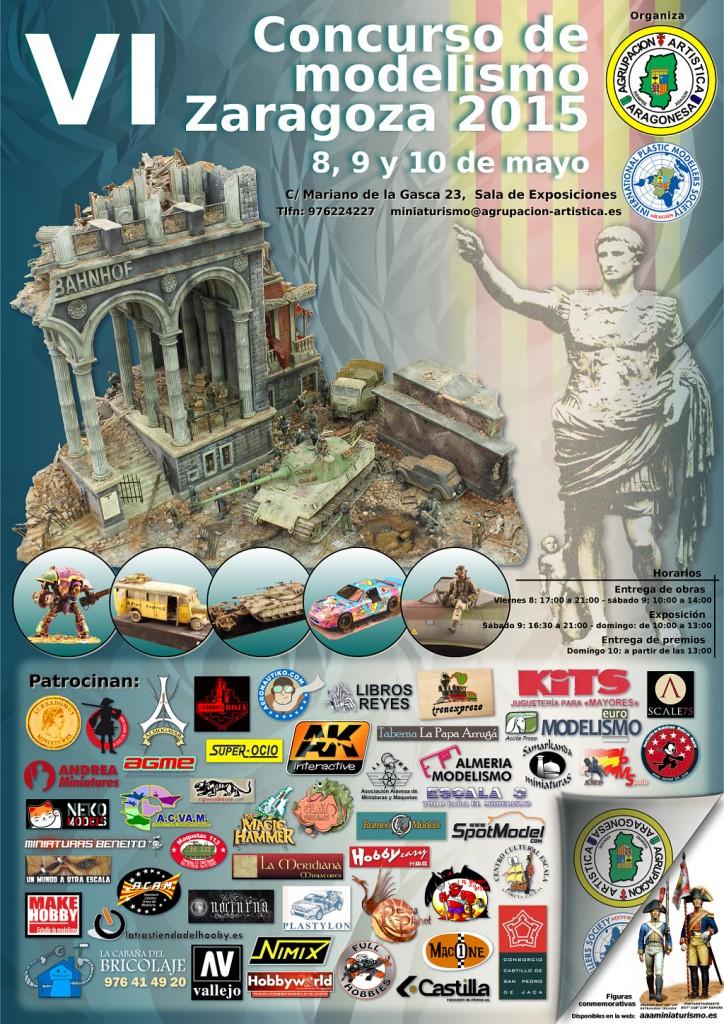 Cartel VI Concurso Zaragoza 2015